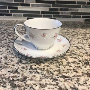 Noritake china mabel cup & saucer  Vintage China